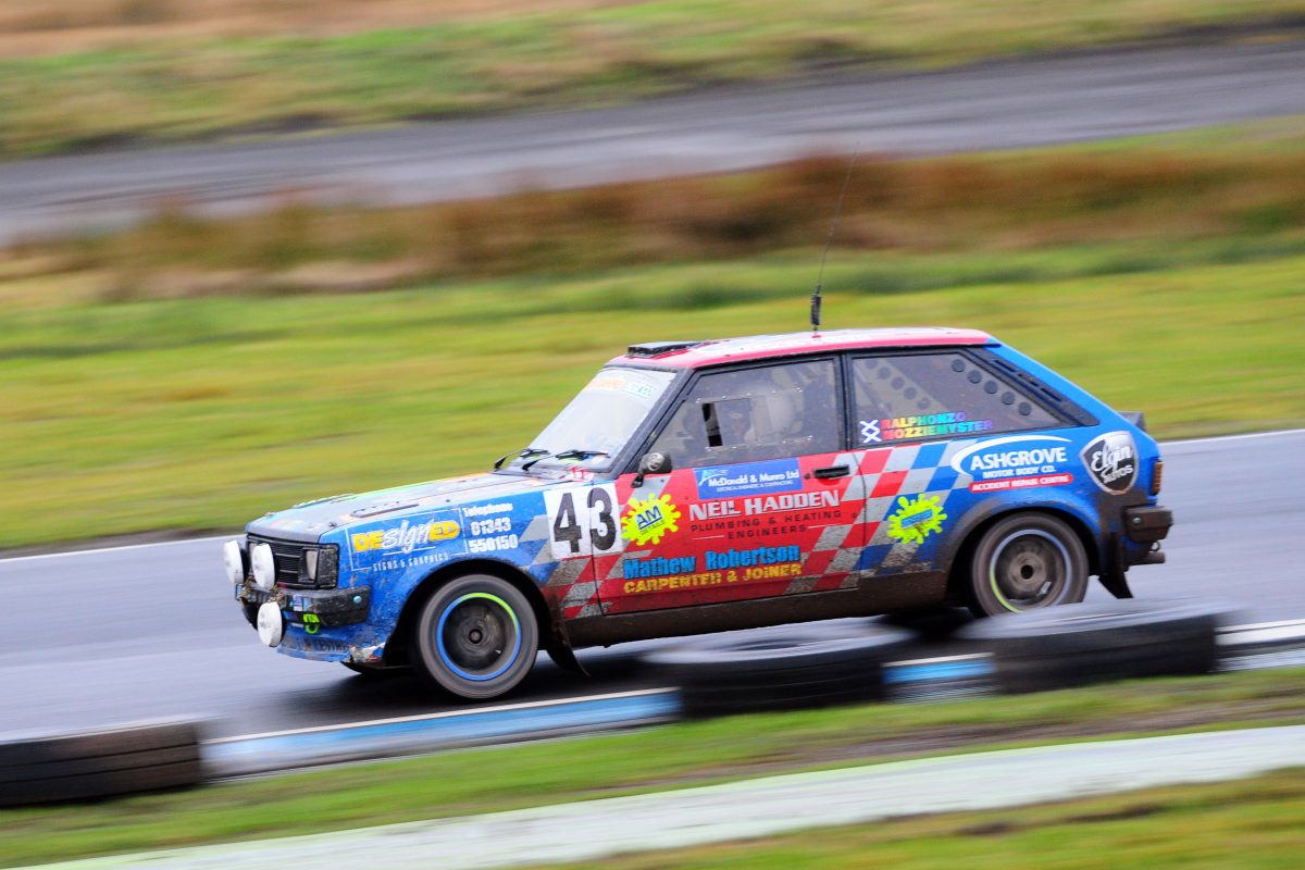Grant Construction Knockhill Stages